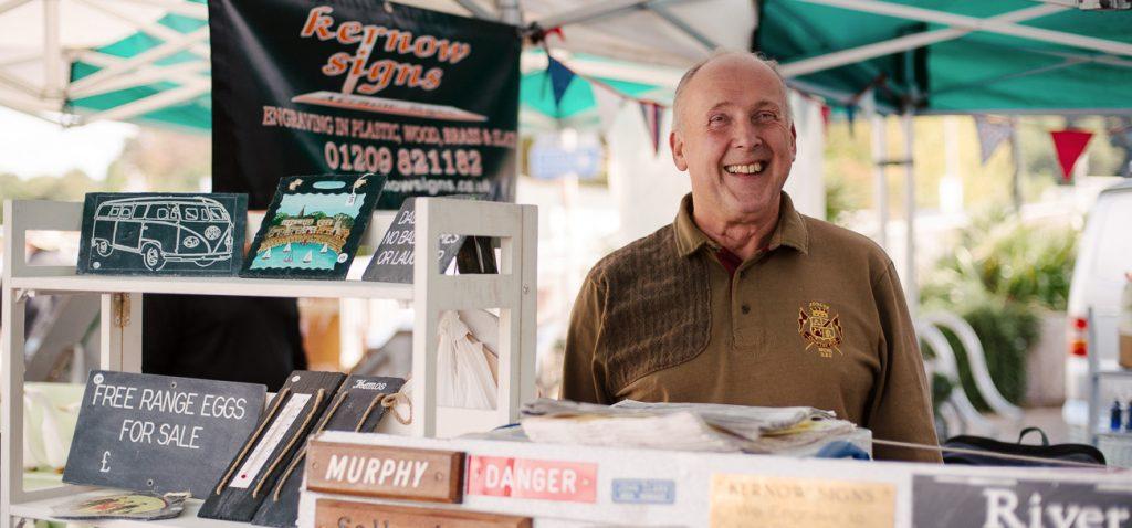 Kernow Signs - Truro Farmers Market