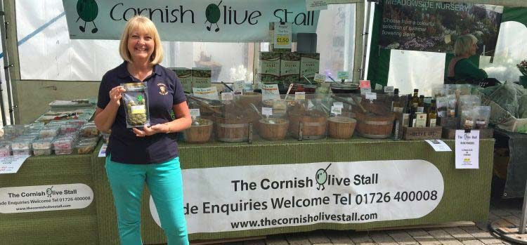 The Cornish Olive Stall