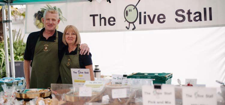 Special Sourcing Trip For Cornish Olive Stall