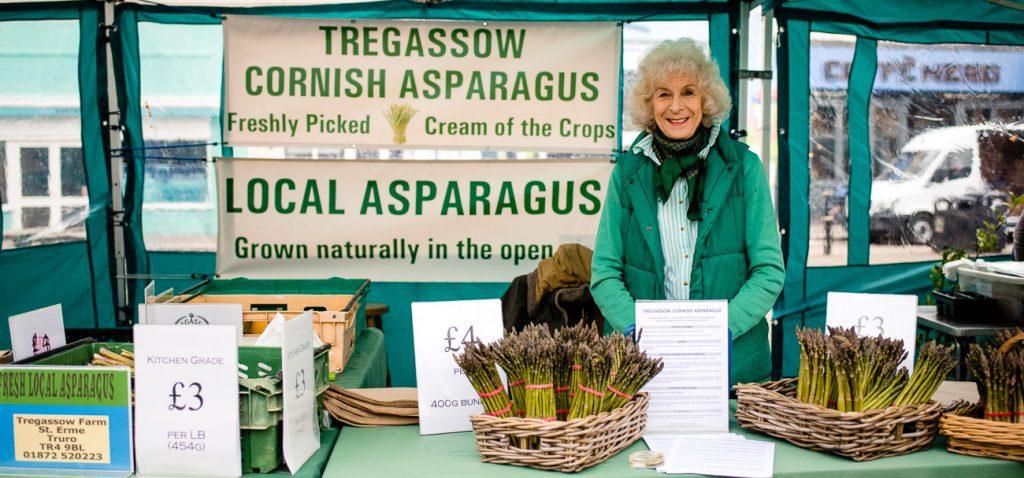 Tregassow Asparagus - Truro Farmers Market