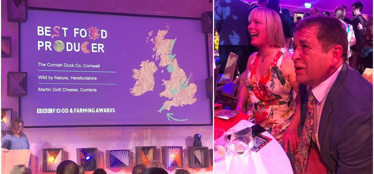 Cornish Duck Co win Best Producer at BBC Food and Farming Awards